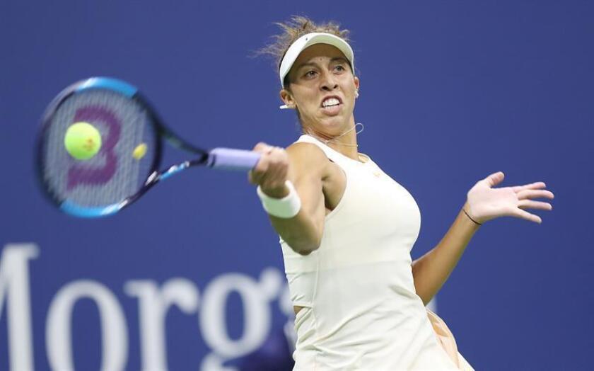 En la imagen, la tenista Madison Keys de Estados Unidos. EFE/Archivo
