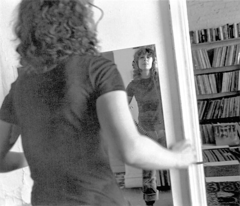Ellen Willis in her Greenwich Village apartment, ca. 1980.