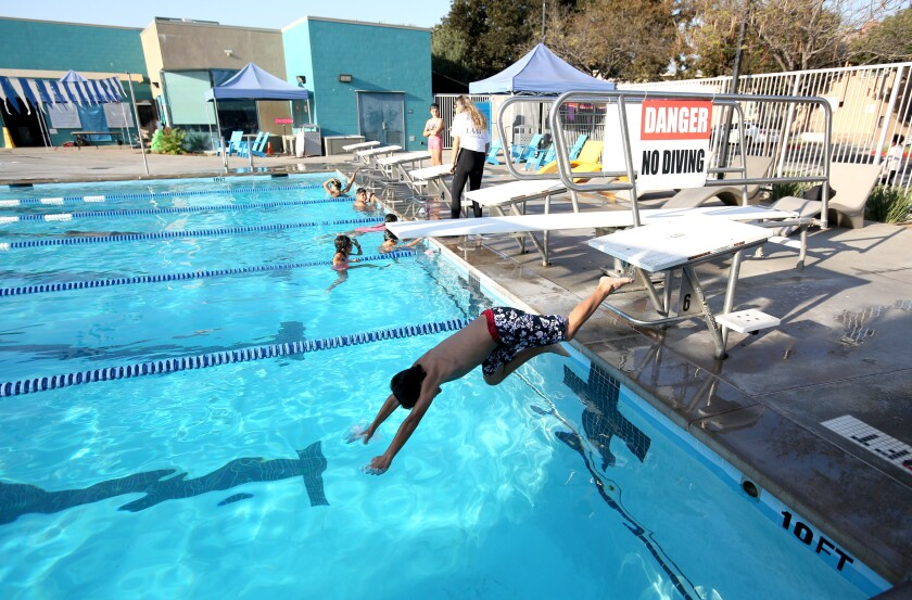 Pacific Community Pool grand opening