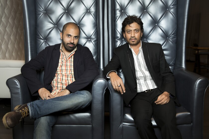 Ritesh Batra and Irrfan Khan