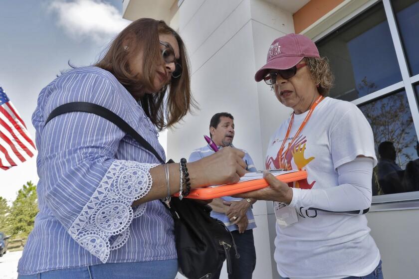 U.S. Election 2020 Puerto Rican Voters