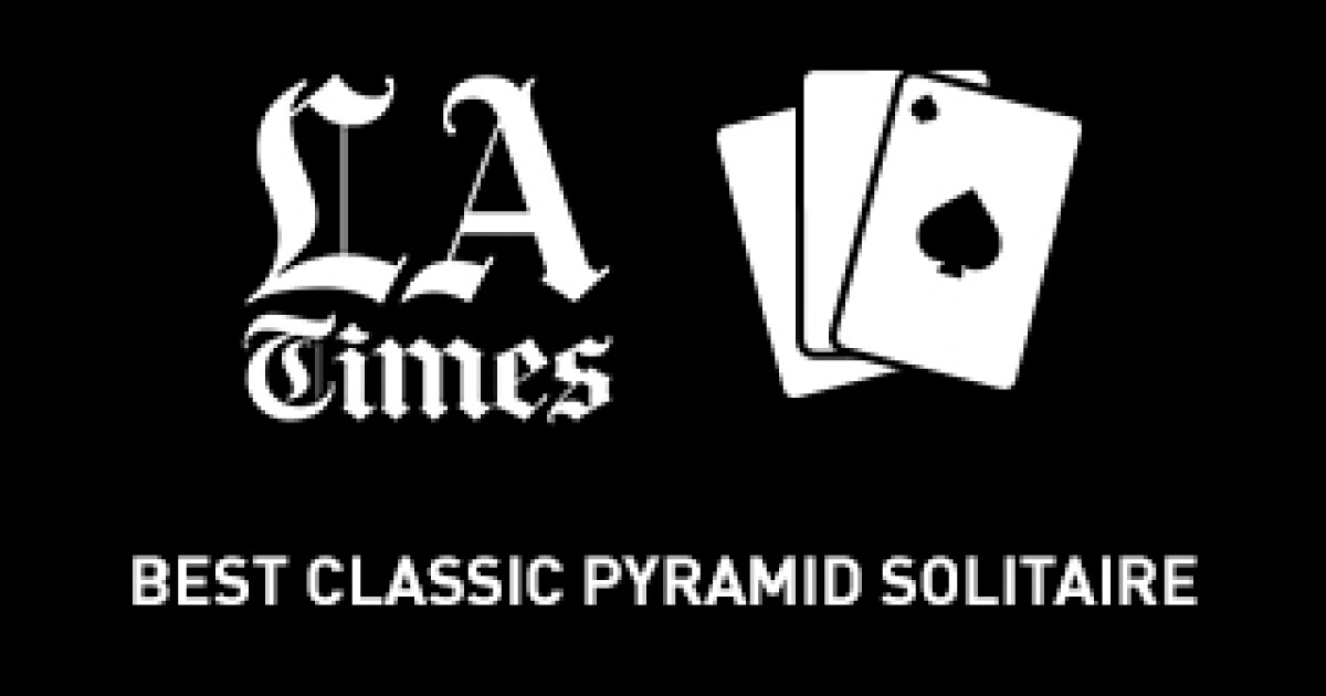 Best Classic Pyramid Solitaire Los Angeles Times