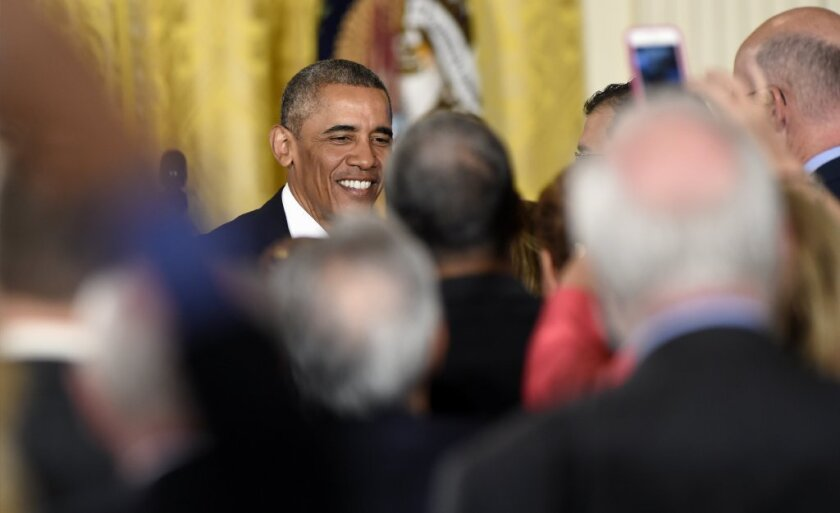 President Obama at White House