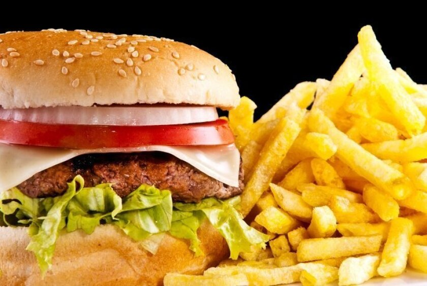 Hamburgers and French Fries are the top food choices among Millennials when dining out.