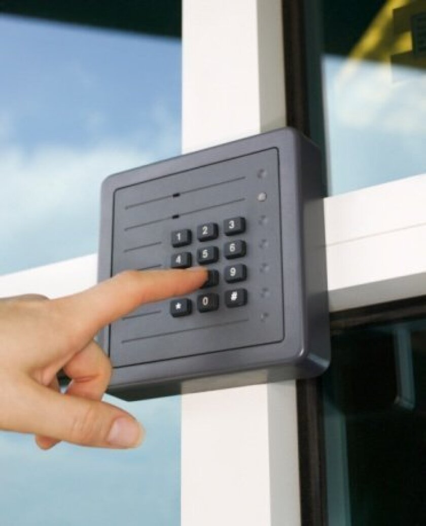 Alarm systems are more effective when coupled with secure building strategies.
