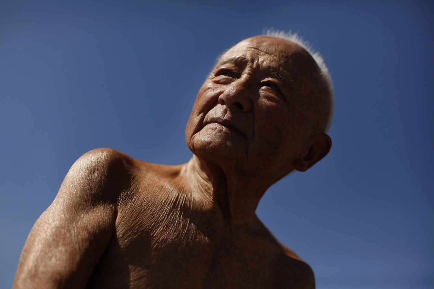 Sammy Lee, two–time Olympic diving champion, is seen in 2011 at age 90 as part of the inaugural class to be inducted into the L.A. Unified School District High School Sports Hall of Fame.