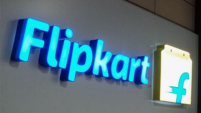 INDIA-US-RETAIL-COMPANY-FLIPKART-WALMART-AMAZON