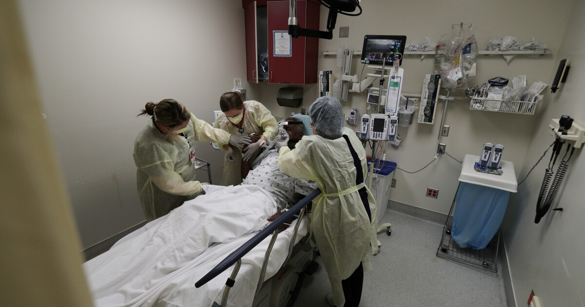 Some ICUs at California hospitals are completely full: 'It is the worst we have seen'