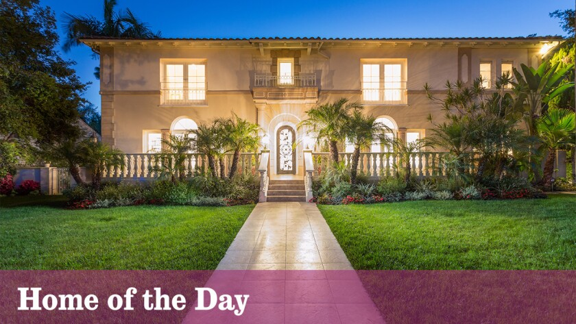 Home of the Day: Sultan of style in Hancock Park