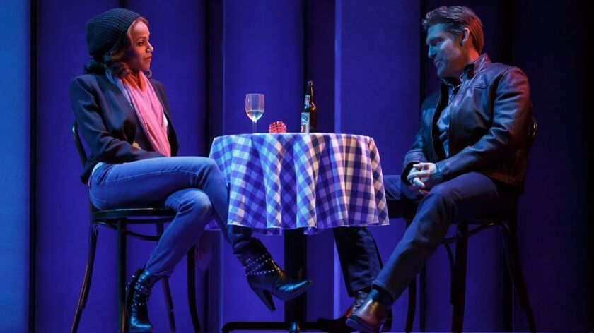 """Deborah Cox and Judson Mills in the touring production of the musical """"The Bodyguard."""""""