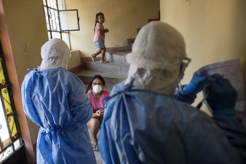 APTOPIX Virus Outbreak Peru