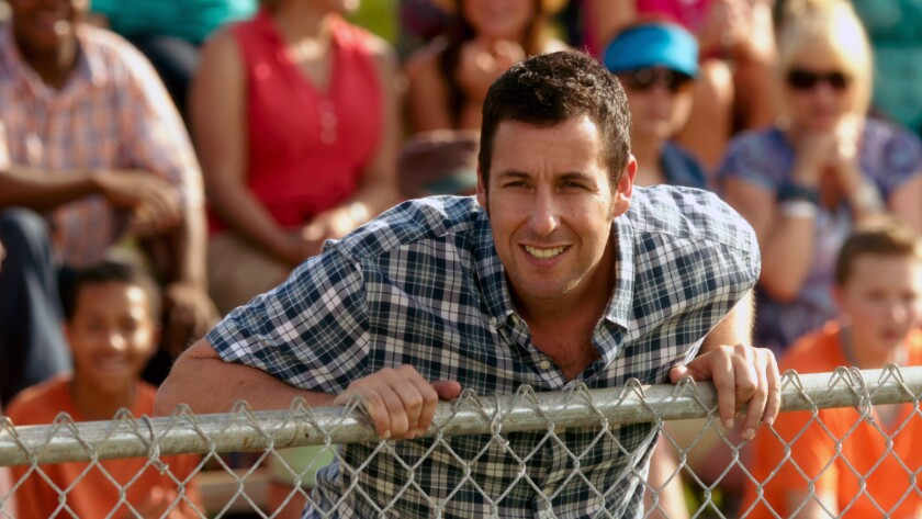 """Adam Sandler appears in a scene from the movie """"Blended."""""""