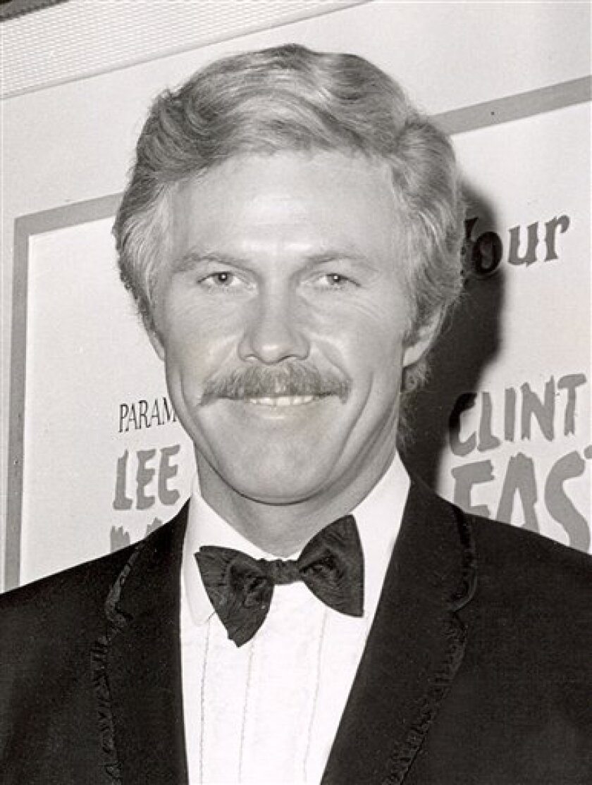 "FILE - In this 1969 file photo, Harve Presnell is shown at the premiere of ""Paint Your Wagon,"" in New York. Presnell, 75, whose booming baritone graced such Broadway musicals as ""The Unsinkable Molly Brown"" and ""Annie,"" died Tuesday, June 30, 2009, of pancreatic cancer at St. John's Health Center in Santa Monica, Calif., according to Presnell's agent, Gregg Klein. (AP Photo, file)"