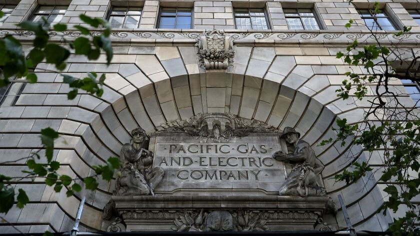 PG&E headquarters in San Francisco