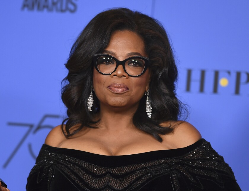 Oprah Winfrey is addressing the controversy surrounding her exit from a Sundance documentary about Russell Simmons' accusers.