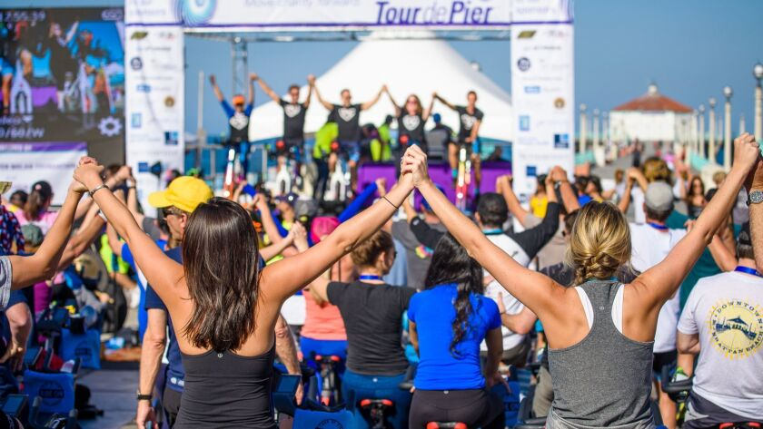 Spin - A couple of thousand people are expected to congregate in Manhattan Beach for the next Tour d