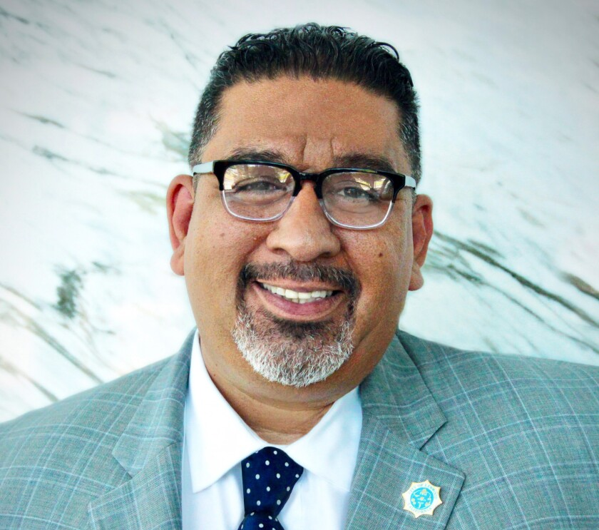 Lynwood City Manager Jose Ometeotl was placed on paid administrative leave Tuesday night pending an internal investigation.