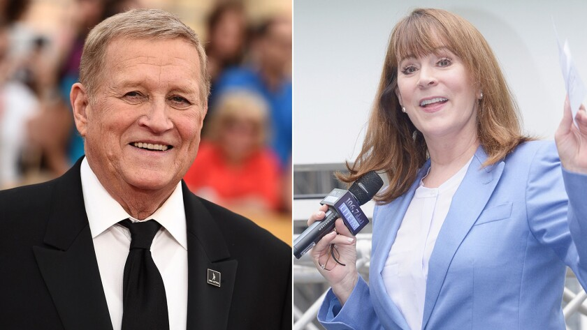 """Ken Howard, the president of SAG-AFTRA, faces challenger Patricia Richardson, the actress who played the mom in the 1990s sitcom """"Home Improvement."""""""