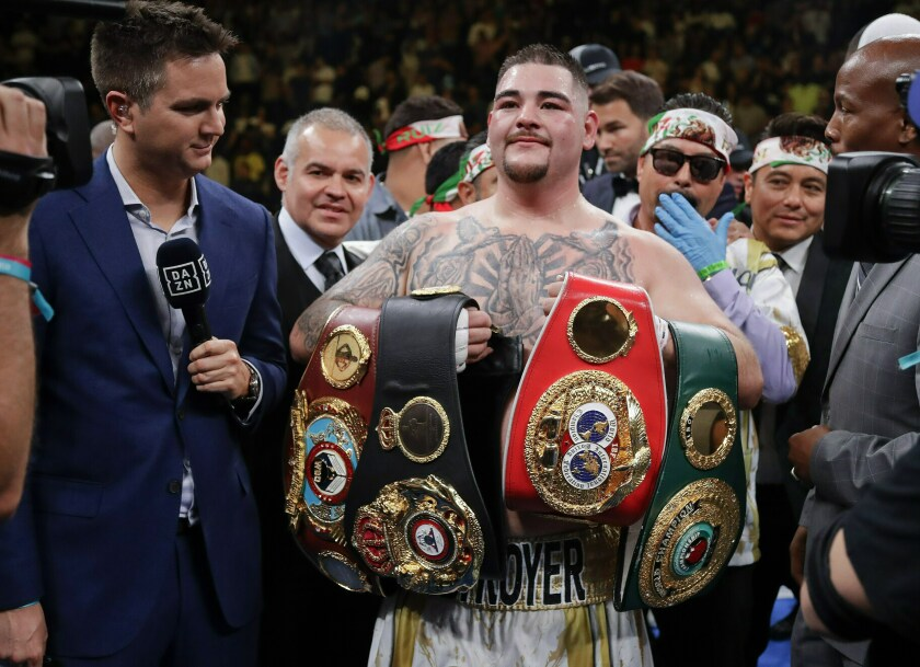 Andy Ruiz Jr., who attended Imperial High School, became the first boxer of Mexican descent to win the heavyweight championship after his upset of champion Anthony Joshua on June 1 in New York.