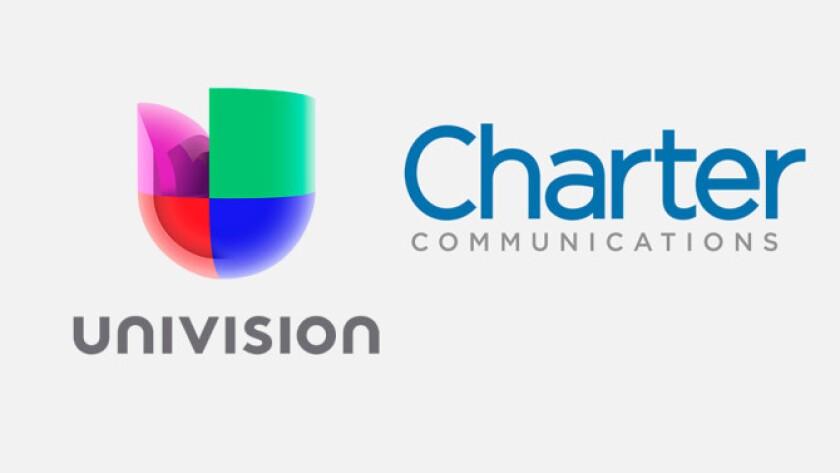 La señal de Univision desapareció del servicio de cable de Charter desde la medianoche pasada, y nadie parece contento con el hecho.