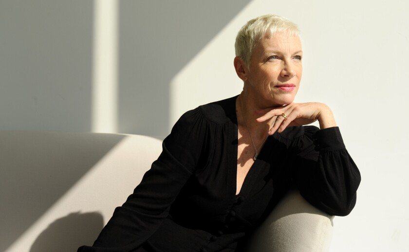 """""""When I was making the album . . . the issue was how do I visually represent this?"""" Annie Lennox said of her newest album """"Nostalgia."""""""