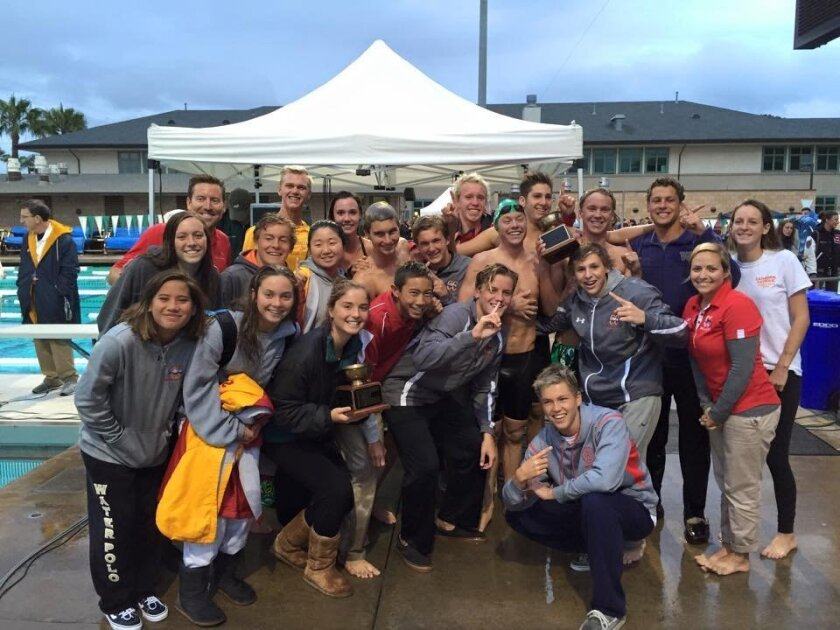 The Cathedral Catholic Boys and Girls Swim and Dive Team won the City Conference Championships.