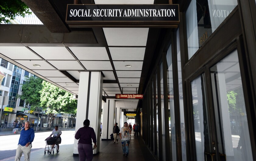 L.A. Social Security Administration office