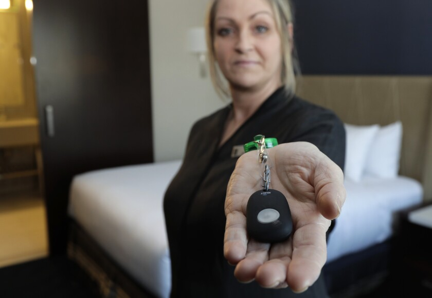 Hotels Panic Buttons