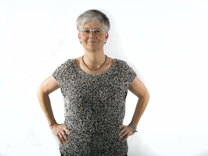 SAN DIEGO, CA-January 14, 2016: | Sue Reynolds, president and CEO of Community HousingWorks, which is building San Diego's first LGBT-friendly housing development. | (Howard Lipin / San Diego Union-Tribune)
