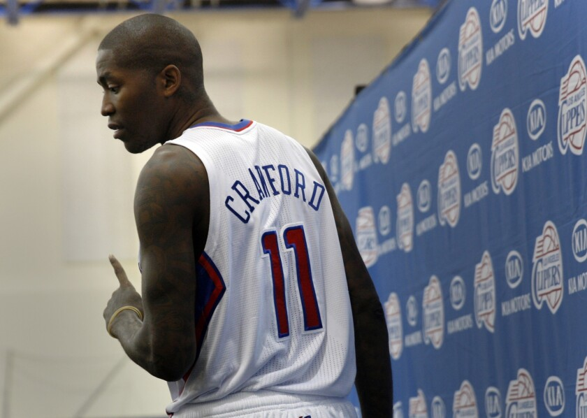 Clippers guard Jamal Crawford has impressed Coach Doc Rivers through the first three days of training camp.