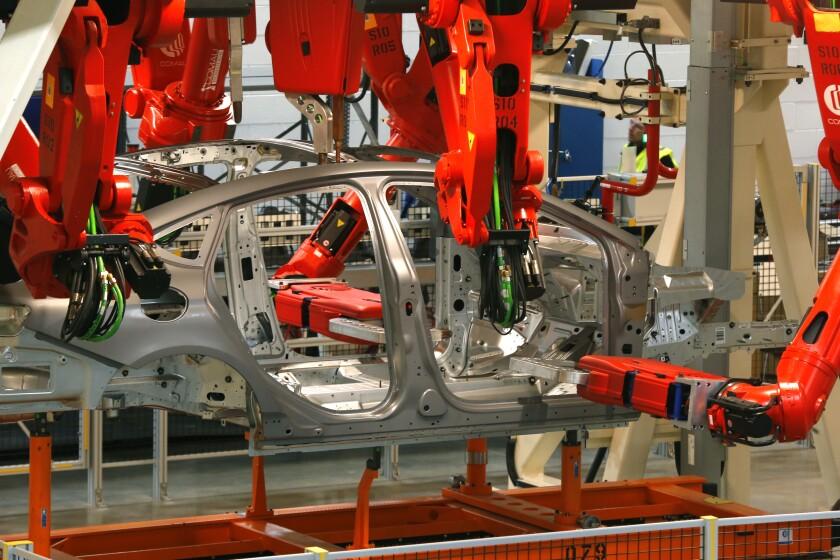 A Chrysler auto plant
