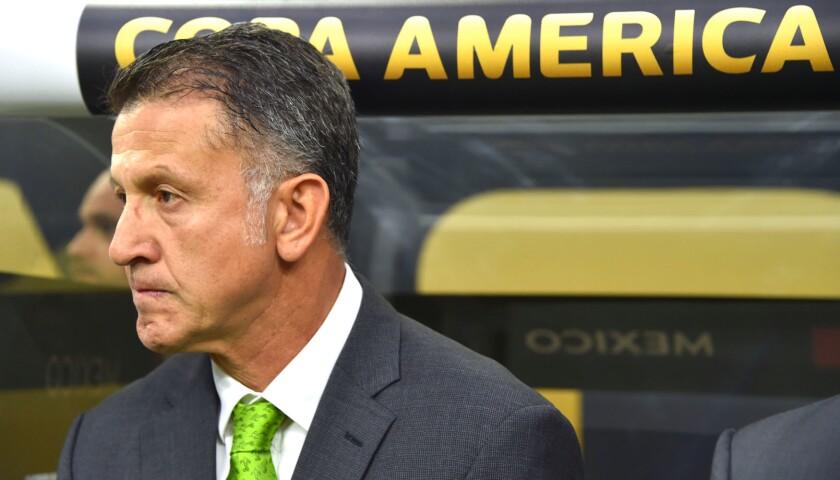Juan Carlos Osorio, entrenador colombiano de la selección de México.
