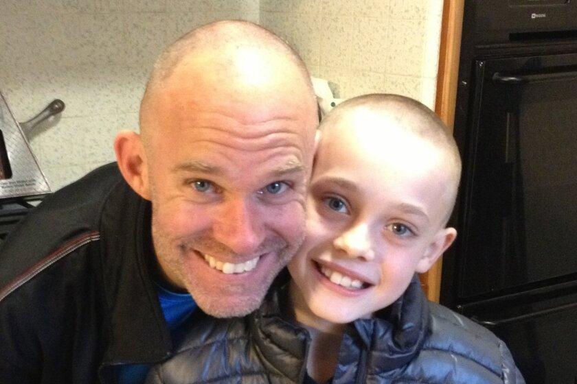 Trevor Sybert said his son's illness was discovered when Luke started having nosebleeds.