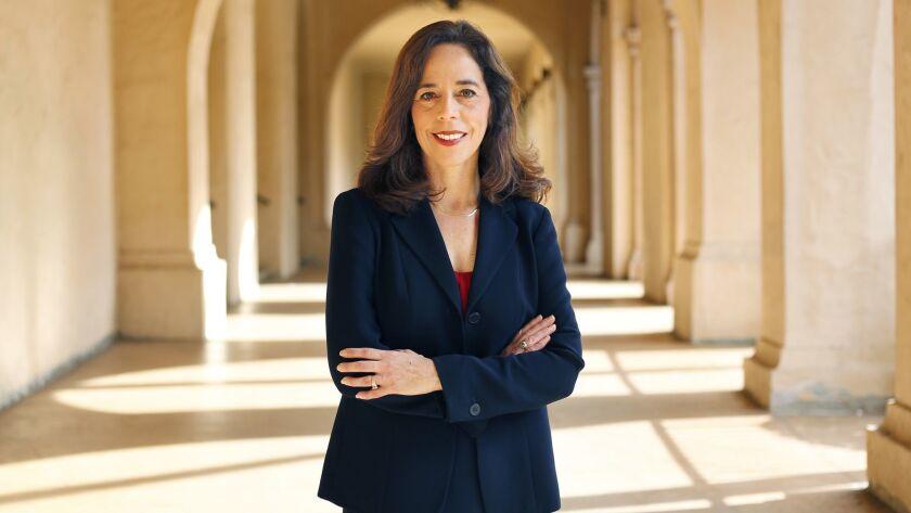 SAN DIEGO, CA, - DEC. 5, 2016 - Newly elected San Diego City Attorney Mara Elliott is shown here in