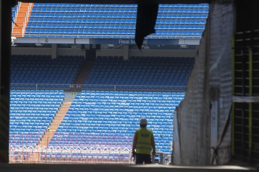 Spain Virus Outbreak Soccer Restart