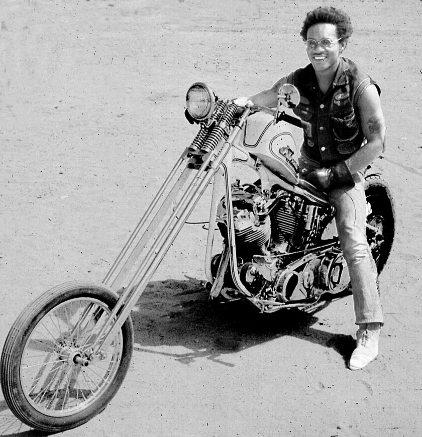 """Cliff """"Sonny"""" Vaughs, largely credited with designing the choppers for the 1968 movie """"Easy Rider,"""" was also a TV news cameraman, documentary filmmaker, record producer, civil rights organizer and accomplished sailor."""