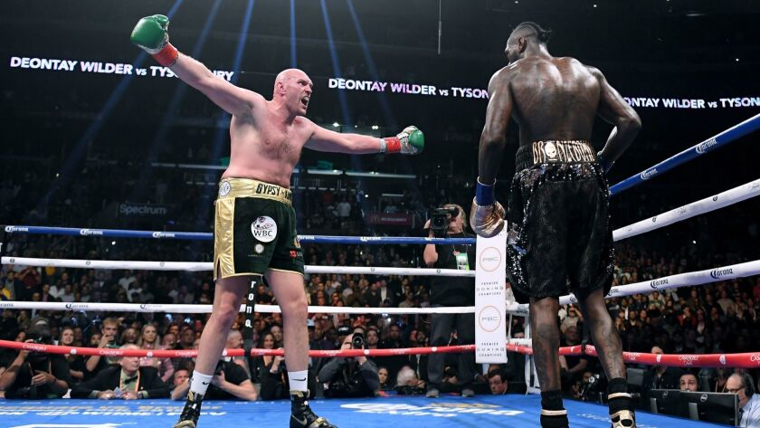 Wilder-Fury 2 could help boxing's heavyweight division up off the canvas