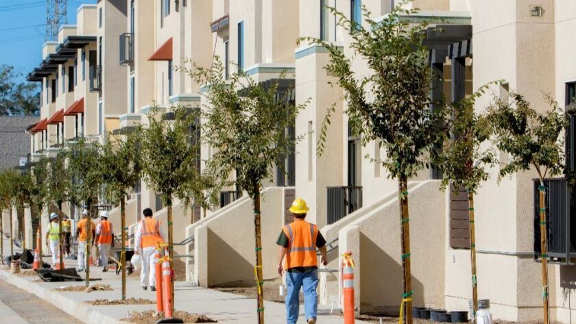 Phase 1 of the National City Paradise Creek affordable housing project expected to be complete in December.