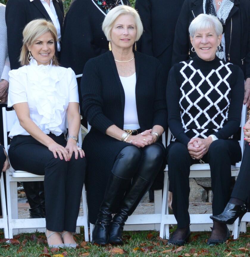 2021 Art of Fashion Co-Chairs Yvette Letourneau, Suzanne Newman and Deborah Cross