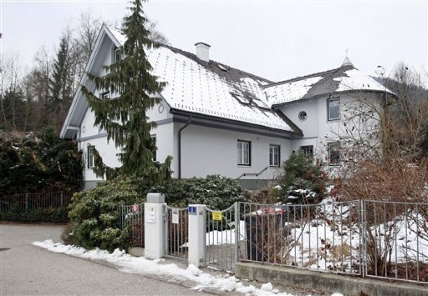 The luxury villa owned by Traude Daniel  is photographed Tuesday Jan. 20 2009 in Klagenfurt, Austria. When Traude Daniel couldn't find a buyer for her luxury villa in southern Austria, she decided to raffle it off. It turned out to be quite a success: 9,999 tickets priced at euro99 ($128) each sold