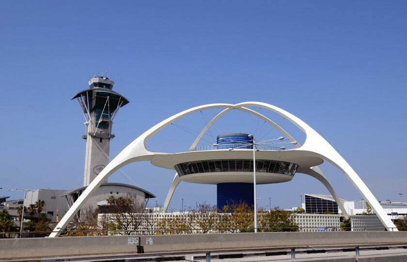Los Angeles International Airport was among the facilities affected by the ground stop order.