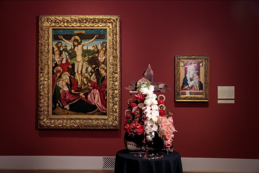 Art Alive, the San Diego Museum of Art's annual floral exhibition, marks its 40th anniversary this year.