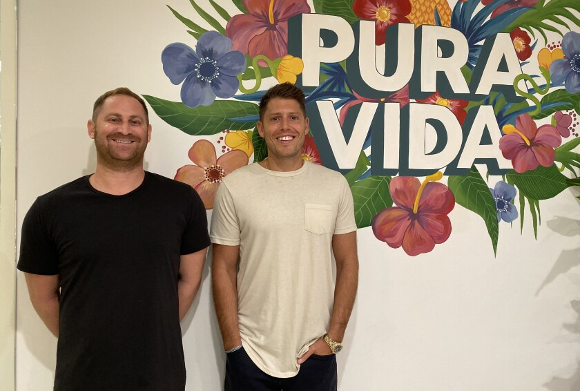 Griffin Thall and Paul Goodman are the co-founders of Pura Vida Bracelets, a La Jolla online and wholesale company recently valued at $130 million.