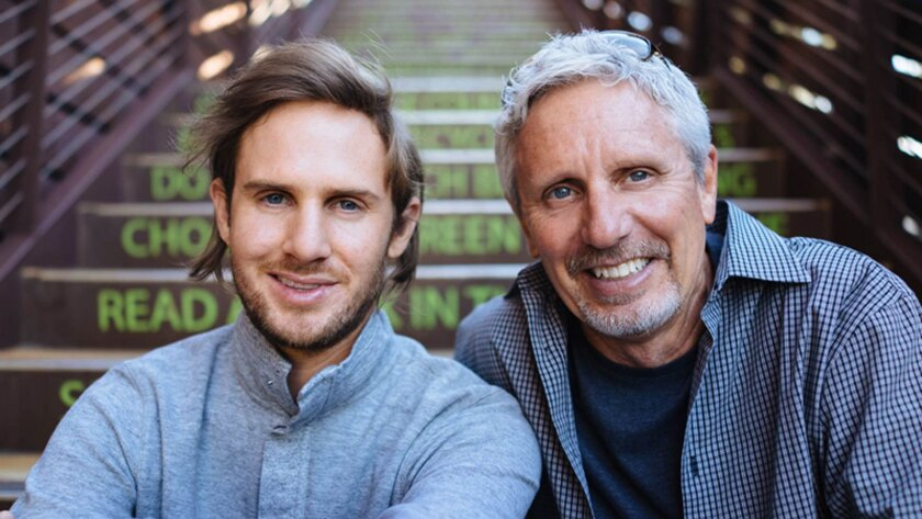 Walter Cruttenden III is CEO and son Jeff is chief operating officer with the startup Acorns.