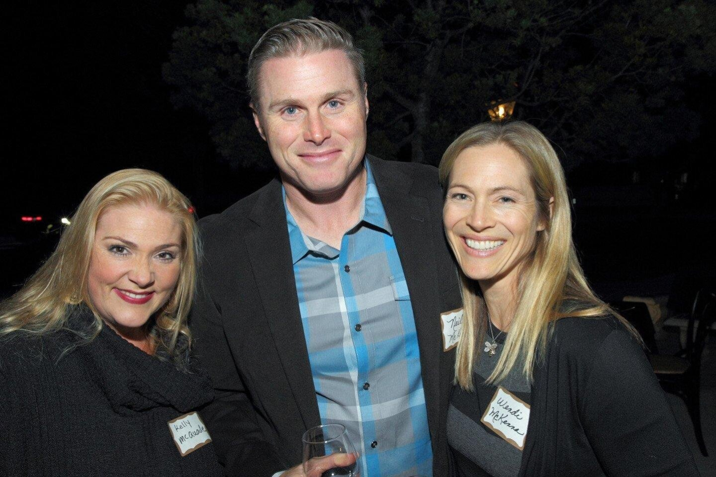 Kelly McQuade, Neil and Wendi McKenna