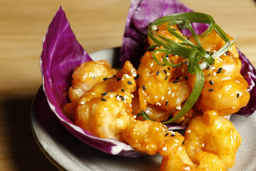 Crispy Spicy Shrimp