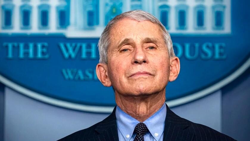Anthony Fauci, epidemiólogo jefe de Estados Unidos.