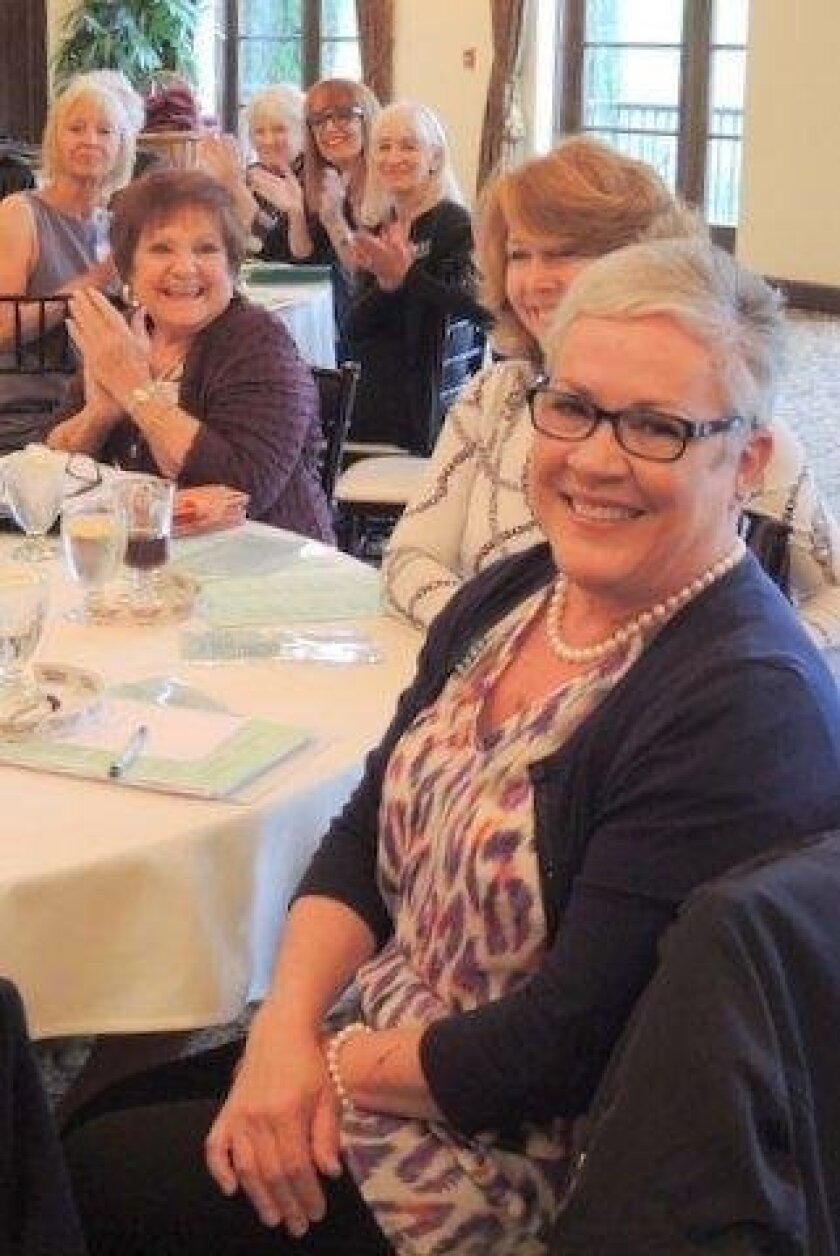 """Bonsall Woman's Club selected Donna Shanahan for its 2016 Volunteer of the Year award. Shanahan has served in numerous capacities, including as president and treasurer. She has volunteered on many committees and has been the """"go-to"""" person for advice. Currently, she is the club's chairman of """"Sprea"""