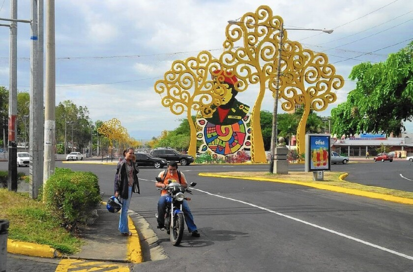 The Trees of Life in downtown Managua, Nicaragua's capital, are the creation of Rosario Murillo, the omniscient and omnipotent wife of President Daniel Ortega.