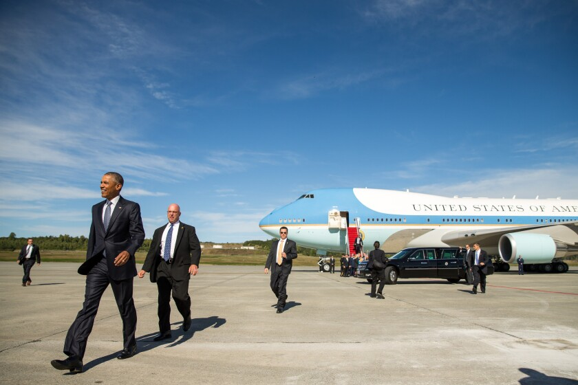 President Obama arrived in Alaska on Monday for a three-day trip aimed at showing solidarity with a state often overlooked by Washington, and to make a call to action on climate change.